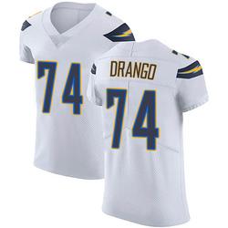 Elite Spencer Drango Men's Los Angeles Chargers White Vapor Untouchable Jersey - Nike