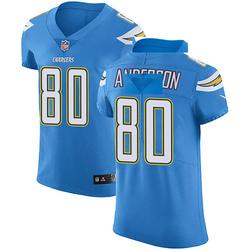 Elite Stephen Anderson Men's Los Angeles Chargers Blue Alternate Vapor Untouchable Jersey - Nike