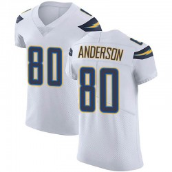 Elite Stephen Anderson Men's Los Angeles Chargers White Vapor Untouchable Jersey - Nike