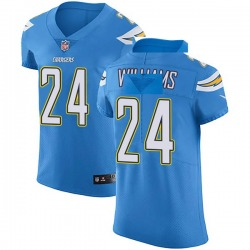 Elite Trevor Williams Men's Los Angeles Chargers Blue Alternate Vapor Untouchable Jersey - Nike
