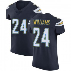 Elite Trevor Williams Men's Los Angeles Chargers Navy Blue Team Color Vapor Untouchable Jersey - Nike