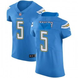 Elite Tyrod Taylor Men's Los Angeles Chargers Blue Alternate Vapor Untouchable Jersey - Nike