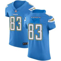 Elite Vince Mayle Men's Los Angeles Chargers Blue Alternate Vapor Untouchable Jersey - Nike