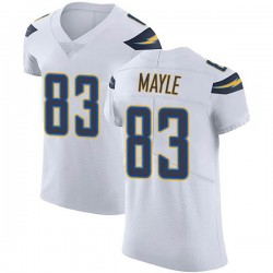 Elite Vince Mayle Men's Los Angeles Chargers White Vapor Untouchable Jersey - Nike