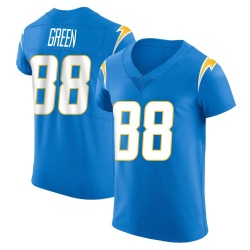 Elite Virgil Green Men's Los Angeles Chargers Blue Alternate Vapor Untouchable Jersey - Nike