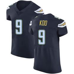 Elite Younghoe Koo Men's Los Angeles Chargers Navy Blue Team Color Vapor Untouchable Jersey - Nike