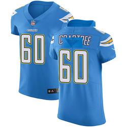 Elite Zachary Crabtree Men's Los Angeles Chargers Blue Alternate Vapor Untouchable Jersey - Nike