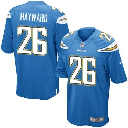 Game Casey Hayward Men's Los Angeles Chargers Blue Electric Alternate Jersey - Nike