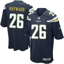 Game Casey Hayward Men's Los Angeles Chargers Navy Blue Team Color Jersey - Nike