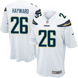 Game Casey Hayward Men's Los Angeles Chargers White Jersey - Nike