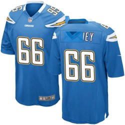 Game Dan Feeney Men's Los Angeles Chargers Blue Powder Alternate Jersey - Nike