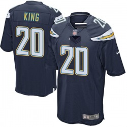 Game Desmond King Youth Los Angeles Chargers Navy Team Color Jersey - Nike