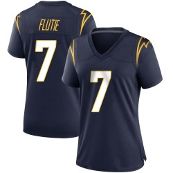 Game Doug Flutie Women's Los Angeles Chargers Navy Team Color Jersey - Nike