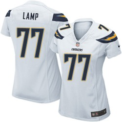 Game Forrest Lamp Women's Los Angeles Chargers White Jersey - Nike
