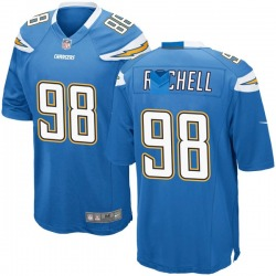 Game Isaac Rochell Youth Los Angeles Chargers Blue Powder Alternate Jersey - Nike