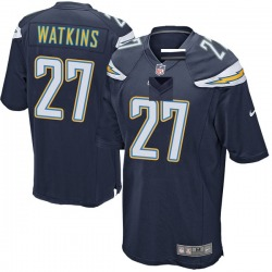 Game Jaylen Watkins Youth Los Angeles Chargers Navy Team Color Jersey - Nike