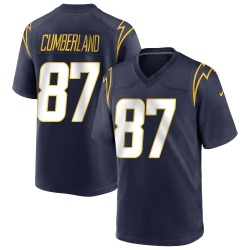 Game Jeff Cumberland Men's Los Angeles Chargers Navy Team Color Jersey - Nike