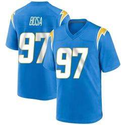 Game Joey Bosa Men's Los Angeles Chargers Blue Powder Alternate Jersey - Nike