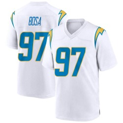 Game Joey Bosa Men's Los Angeles Chargers White Jersey - Nike