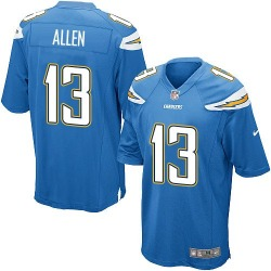 Game Keenan Allen Men's Los Angeles Chargers Blue Electric Alternate Jersey - Nike