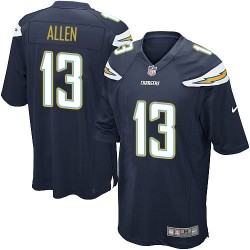 Game Keenan Allen Men's Los Angeles Chargers Navy Blue Team Color Jersey - Nike