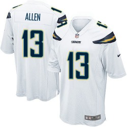 Game Keenan Allen Men's Los Angeles Chargers White Jersey - Nike