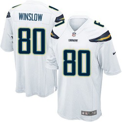 Game Kellen Winslow Men's Los Angeles Chargers White Jersey - Nike