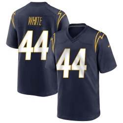 Game Kyzir White Men's Los Angeles Chargers Navy Team Color Jersey - Nike