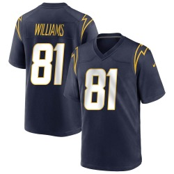 Game Mike Williams Men's Los Angeles Chargers Navy Team Color Jersey - Nike
