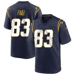 Game Mitchell Paige Men's Los Angeles Chargers Navy Team Color Jersey - Nike