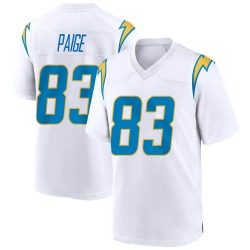 Game Mitchell Paige Men's Los Angeles Chargers White Jersey - Nike