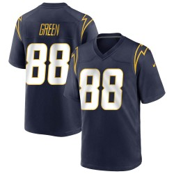 Game Virgil Green Youth Los Angeles Chargers Navy Team Color Jersey - Nike