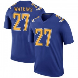 Legend Jaylen Watkins Youth Los Angeles Chargers Royal Color Rush Jersey - Nike