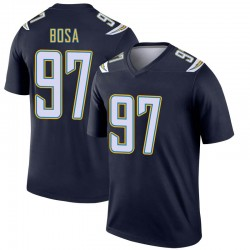 Legend Joey Bosa Youth Los Angeles Chargers Navy Jersey - Nike
