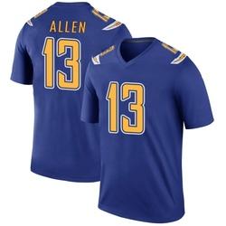Legend Keenan Allen Men's Los Angeles Chargers Royal Color Rush Jersey