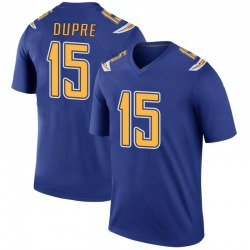 Legend Malachi Dupre Men's Los Angeles Chargers Royal Color Rush Jersey - Nike