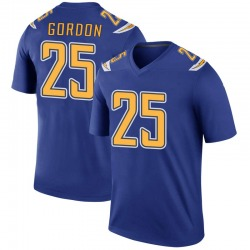 Legend Melvin Gordon Men's Los Angeles Chargers Royal Color Rush Jersey - Nike