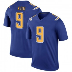 Legend Younghoe Koo Youth Los Angeles Chargers Royal Color Rush Jersey - Nike