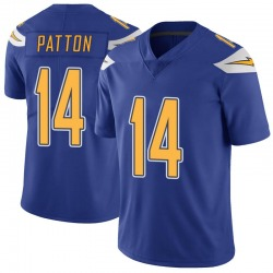 Limited Andre Patton Youth Los Angeles Chargers Royal Color Rush Vapor Untouchable Jersey - Nike