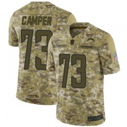 Limited Blake Camper Men's Los Angeles Chargers Camo 2018 Salute to Service Jersey - Nike