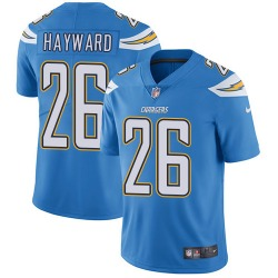 Limited Casey Hayward Men's Los Angeles Chargers Blue Electric Alternate Jersey - Nike