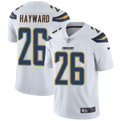 Limited Casey Hayward Men's Los Angeles Chargers White Jersey - Nike
