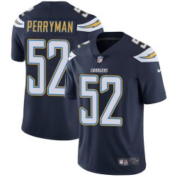 Limited Denzel Perryman Men's Los Angeles Chargers Navy Blue Team Color Jersey - Nike
