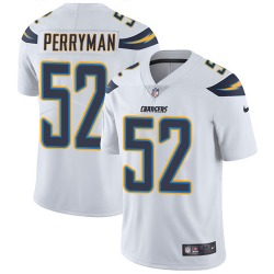 Limited Denzel Perryman Men's Los Angeles Chargers White Jersey - Nike