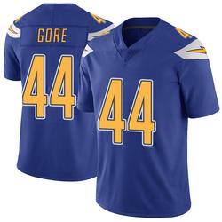 Limited Derrick Gore Men's Los Angeles Chargers Royal Color Rush Vapor Untouchable Jersey - Nike