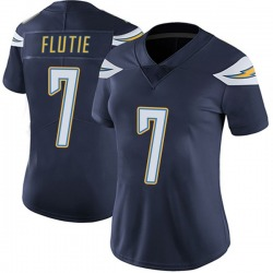 Limited Doug Flutie Women's Los Angeles Chargers Navy Team Color Vapor Untouchable Jersey - Nike