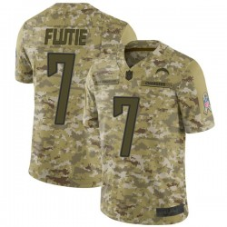 Limited Doug Flutie Youth Los Angeles Chargers Camo 2018 Salute to Service Jersey - Nike