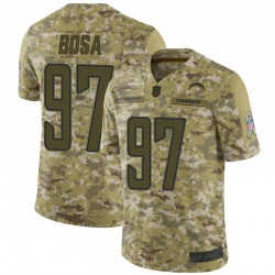 Limited Joey Bosa Men's Los Angeles Chargers Camo 2018 Salute to Service Jersey - Nike