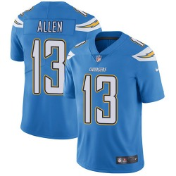 Limited Keenan Allen Men's Los Angeles Chargers Blue Electric Alternate Jersey - Nike