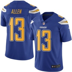 Limited Keenan Allen Men's Los Angeles Chargers Blue Electric Color Rush Jersey - Nike